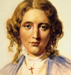 Young Harriet Beecher Stowe