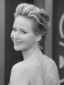 Jennifer blk and white