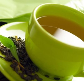 healthy-green-tea-cup-tea-leaves