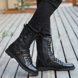 fashion-2015-winter-autumn-real-leather-gladitaor-shoes-thermal-punk-black-ankle-motorcycle-boots-man-casual