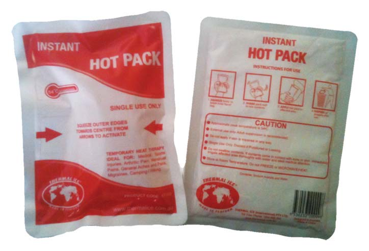 Heat Pack Instant Reuseable : Essential things you need to survive the winter