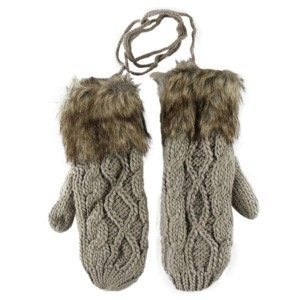Hot-women-fashion-Cute-mittens-women-Girls-Female-Double-Deck-Wool-Hang-Neck-Winter-Mittens-With