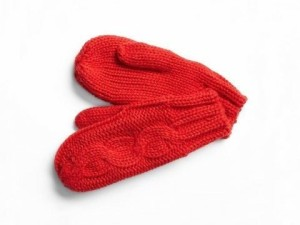 Mittens-GAP-Red